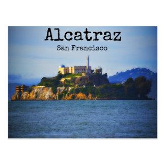 Alcatraz Insel San Francisco Kalifornien Postkarte