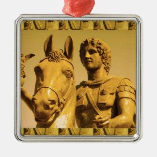 Alexander der Große:  Vintages Alexanderia Silbernes Ornament