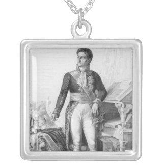 Alexandre Berthier Halskette Mit Quadratischem Anhänger