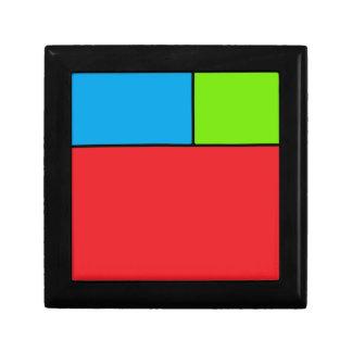 Alexiibo Logo Kleine Quadratische Schatulle