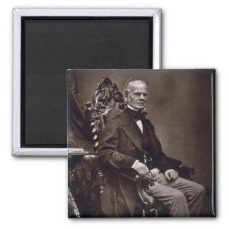 Alfred Auguste Cuvillier-Liliengeschmückt Quadratischer Magnet