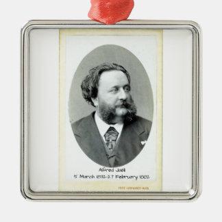 Alfred Jaell Silbernes Ornament