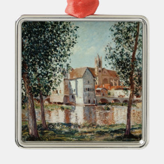 Alfred Sisley | das Loing bei Moret Silbernes Ornament