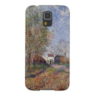 Alfred Sisley | eine Ecke des Holzes bei Sablons Samsung Galaxy S5 Hülle