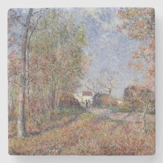 Alfred Sisley | eine Ecke des Holzes bei Sablons Steinuntersetzer