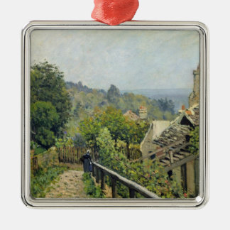 Alfred Sisley   Louveciennes, die Höhen an Silbernes Ornament