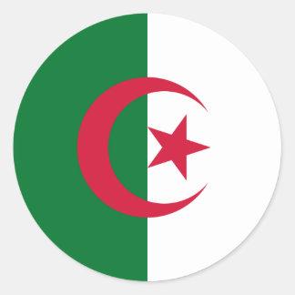 Algerien Runder Sticker