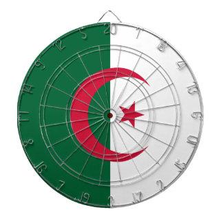 Algerien-Flagge Dartscheibe