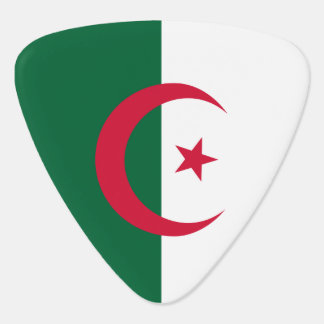 Algerien-Flagge Plektron