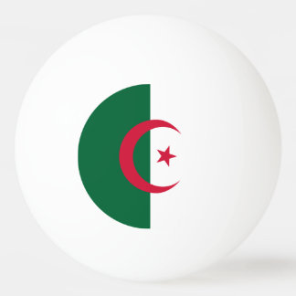 Algerien-Flagge Tischtennis Ball