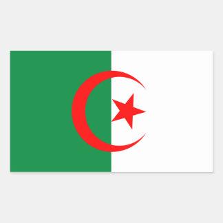 Algerien-Flaggen-Aufkleber