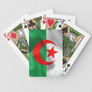 Algerien-Flaggen-Fahrrad-Spielkarten Bicycle Spielkarten