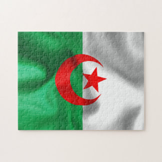 Algerien-Flaggen-Puzzle Puzzle