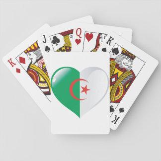 Algerien-Herz-Spielkarten Spielkarten