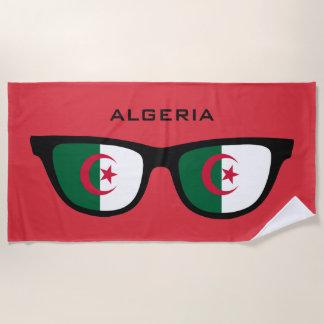 ALGERIEN schattiert kundenspezifisches Strandtuch