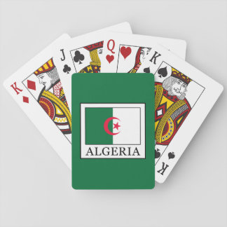 Algerien Spielkarten