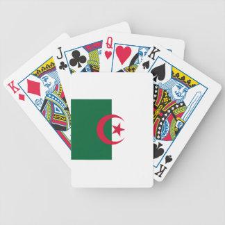 Algerische Flagge Bicycle Spielkarten