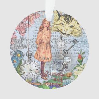 Alice im Wunderland-Cheshire-Katze Ornament