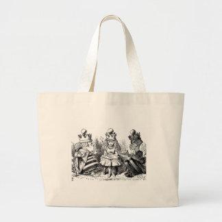 Alice und das Queens Jumbo Stoffbeutel