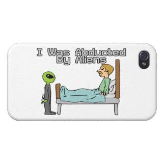 Alien-Abduktion iPhone 4/4S Hülle