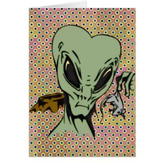 Alien-Abduktionen der Mäuse Karte