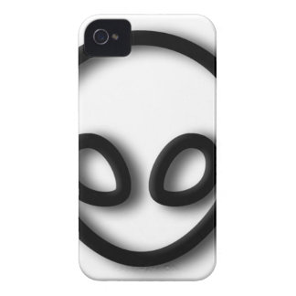 Alien-grauer Entwurf Case-Mate iPhone 4 Hülle