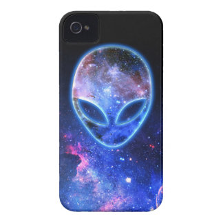 Alien im Raum iPhone 4 Hülle