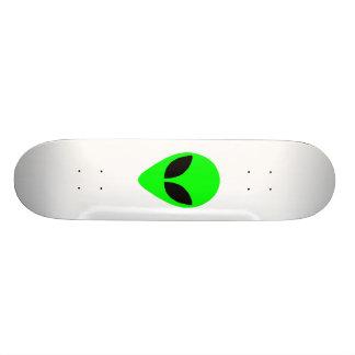 Alien-Kopf 20,1 Cm Skateboard Deck