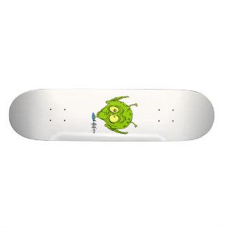 Alien mit riesigem treibendem HauptuFO 19,1 Cm Old School Skateboard Deck