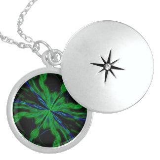 Alien-Nebelfleck-Schlüsselkette Sterling Silberkette