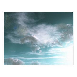 Alienatmosphäre Postkarte