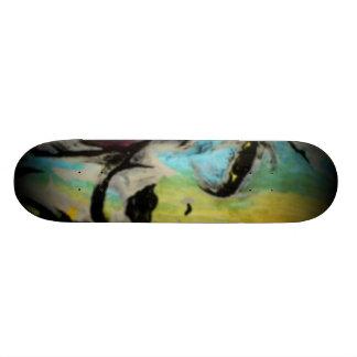 """Alienbeta"" Skateboard Skateboardbrett"
