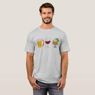 Alkohol Emoji T-Shirt