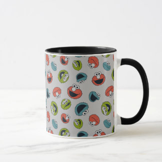 All-Star- Team-Muster des Sesame Street-| Tasse