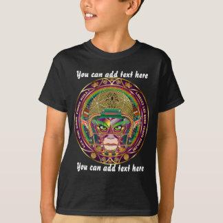 Alle Art-Kinderdunklen Ansicht-Anmerkungen T-Shirt