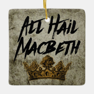 Alle begrüßen Macbeth Ornament