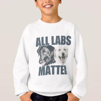 Alle Labradorangelegenheit Sweatshirt
