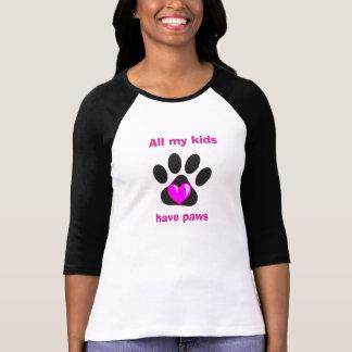 Alle meine Kinder haben Tatzen T-Shirt