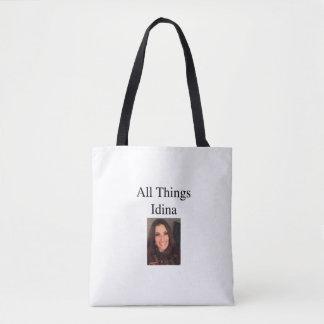Alle Sachen Idina Bild-Taschenfront und -rückseite