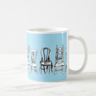 Alle Stühle Kaffeetasse