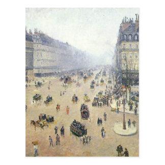 Allee de L'Opera, Place du Theatre Francais Postkarte