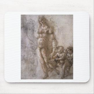 Allegorie des Überflusses durch Sandro Botticelli Mauspads