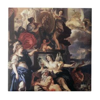 Allegorie einer Herrschaft durch Francesco Fliese