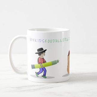 Allergie-Cowboy-Kaffee-Tasse mein Kindes Tasse