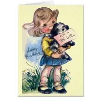 Alles Gute zum Geburtstag - für ein großes Mädchen Grußkarten