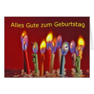 Alles Gute zum Geburtstag Grußkarte