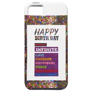 Alles Gute zum Geburtstag HappyBirthday iPhone 5 Hülle