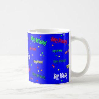 Alles Gute zum Geburtstag! Kaffee-Tasse Tasse