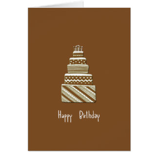 Alles Gute zum Geburtstag Notecard Karte