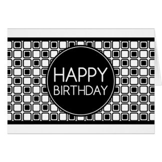 alles Gute zum Geburtstag (studioSquares) Karte